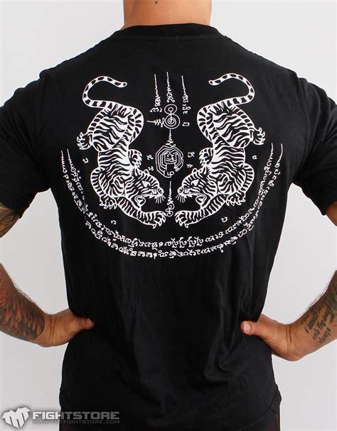 Kaos Muay Thai Baju Muaythai T Shirt Muay Thai Kb120 kaos muay thai tiger sak yant kaosufc kaosufc