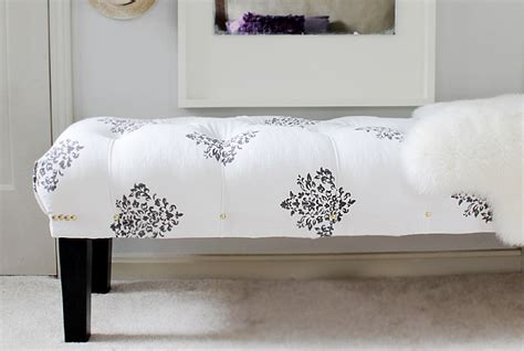 tufted bench diy how to build a diy tufted bench home made by carmona