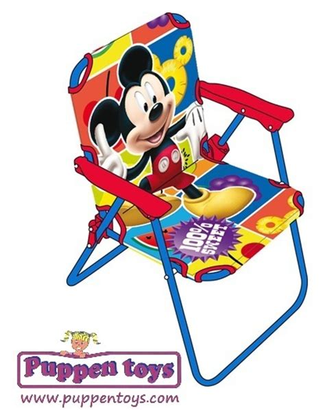 folding chair disney mickey mouse arditex juguetes