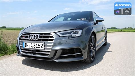 Audi S3 Facelift by 2017 Audi S3 Facelift 310hp Drive Sound 60fps