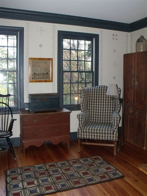 home decore the 1800 house antiques colonial decorating colonial