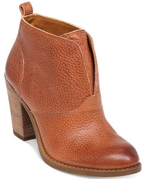 macy s lucky brand boots lucky brand s ehllen booties boots shoes macy s