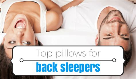 3 saver deals pillow for back sleepers free