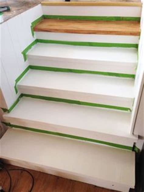 faux wood graining fake your way to oak stair treads with paint diy home info painting tips