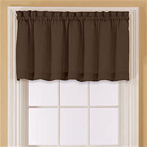 Brown Window Valance Window Valances Window Scarves Kmart