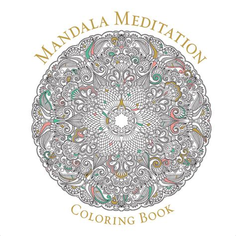 mandala meditation coloring book ideas mandala meditation coloring book