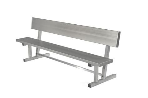 bench team mcts moveable comfort team bench square tube outdoor