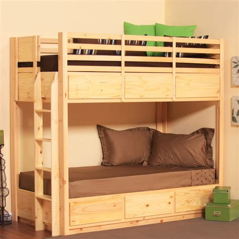 Bunk Bed With Drawers Bunk Bed With 6 Drawers Pine Drawers And Bunk Bed