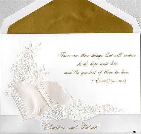 Wedding Bible by Biblical Quotes For Wedding Cards Quotesgram Wedding