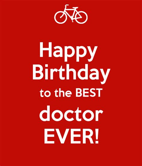 Happy Birthday Wish The Best For You Birthday Wishes For Doctor