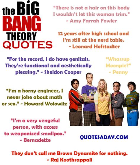 the big theory quotes dump a day