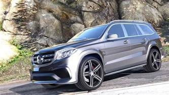 Mercedes Gls Mercedes Gls 63 Amg 2015 Add On Replace Animated Gta5 Mods