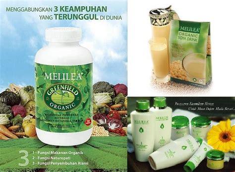 Melilea Greenfield Serbuk Minuman Botanical produk harga organic cara pintar hidup sehat dan bahagia