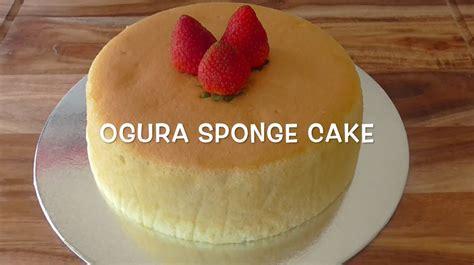 Ogura Cakes how to make ogura sponge cake recipe resep ogura cake