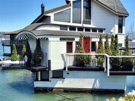 sausalito boat houses bay area house boats a gallery on flickr