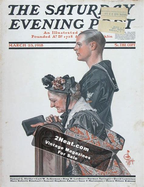 l post covers for sale saturday evening post march 23 1918