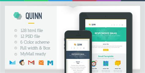 how to create a responsive email template 20 best responsive email newsletter templates 2014