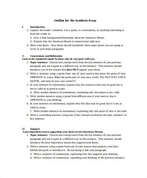 essay format doc 16 essay exles in doc