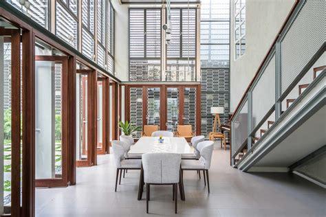 kesan bersih simpel  elegan  rumah tropis modern