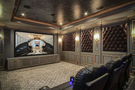 theater design ideas home theater traditional