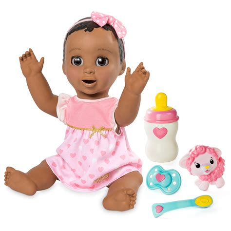 black doll toys r us luvabella responsive baby doll brown hair toys quot r quot us