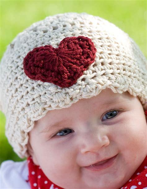 heart hat pattern sweet heart crochet infant hat knitting patterns and