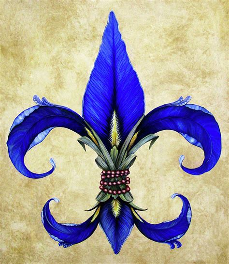 watercolor tattoo new orleans flower of new orleans blue iris canvas print canvas