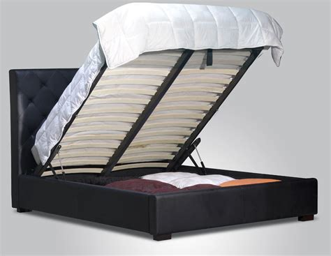 lift and store beds yoshi full size w storage modern style platform bed set black ebay