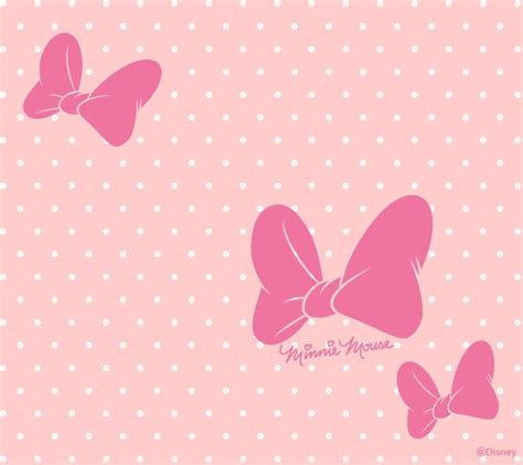 wallpaper pink disney minnie wallpaper we heart it pink background and disney