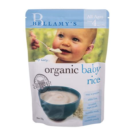 Bellamys Organic Baby Rice bellamy s organic baby rice signature market