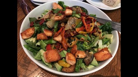 California Pizza Kitchen Roasted Veggie Salad by What I Ate On Weight Watchers Freestyle California Pizza