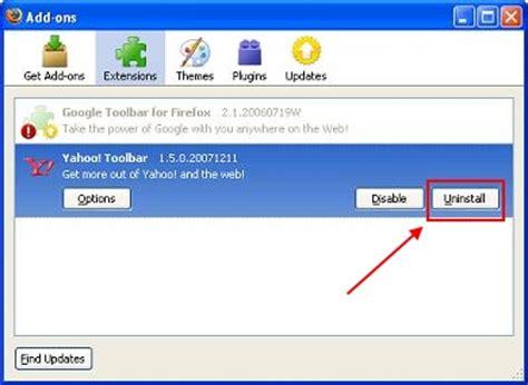 yahoo toolbar how to uninstall yahoo toolbar remove yahoo toolbar