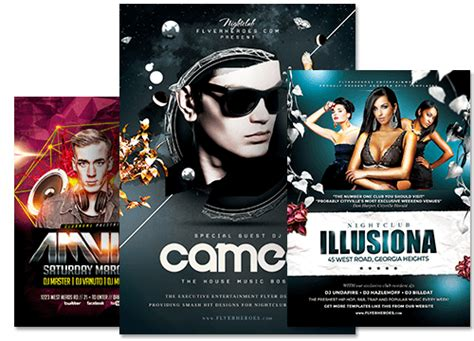 templates flyer png premium psd flyer templates for photoshop flyerheroes