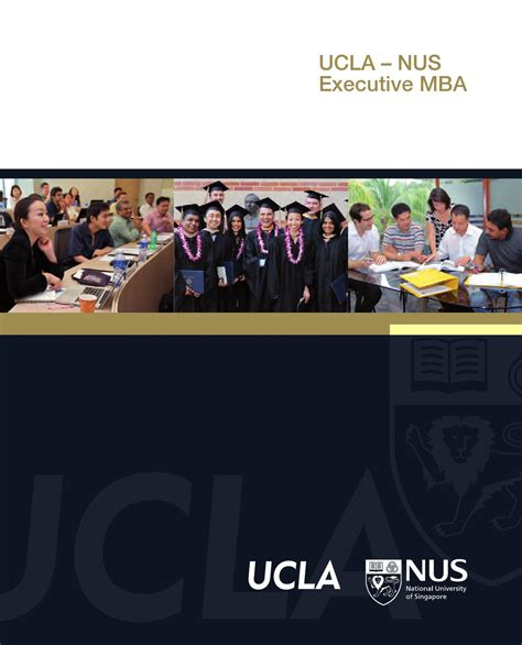 Ucla Time Mba Tuition by Ucla Nus Emba Brochure 2012 By Nus Business School Issuu