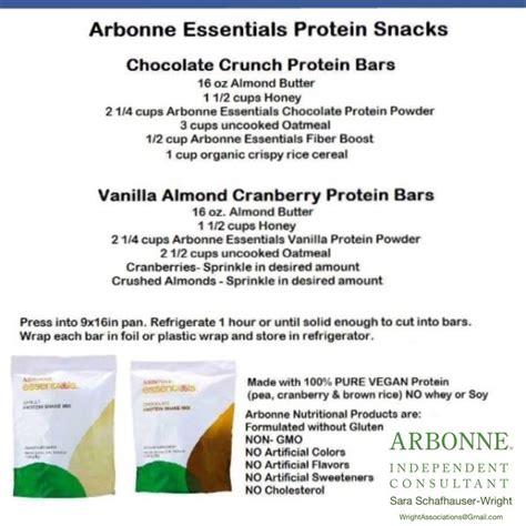 Arbonne Detox Protein Bars by Arbonne Protein Bar Recipe Dandk