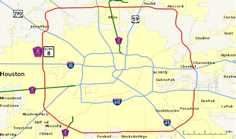 texas tollway map houston tollway map indiana map
