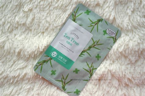 Etude I Need You Mask etude house i need you mask tea tree xilytol forest