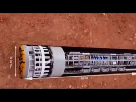 Alat Mri 4 mesin bor canggih buat jalur terowongan mrt