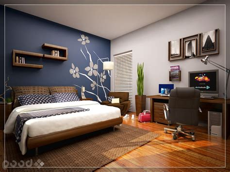 Accent Wall Ideas Bedroom Bedroom Wall Paint Ideas Cool Bedroom With Skylight Blue