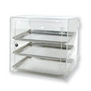 clear pastry half pan self serve countertop
