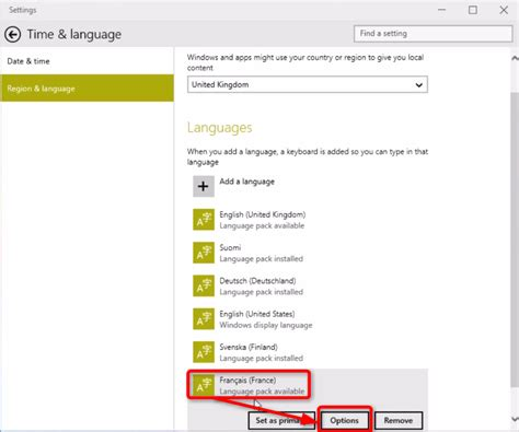 install windows 10 language pack language add remove and change in windows 10 windows
