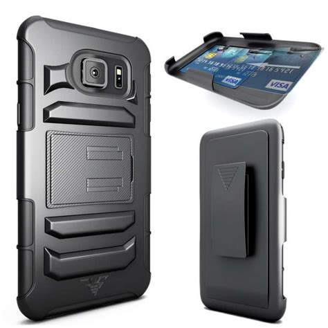 Back Cover Casing Armor Kickstand Samsung Galaxy S6 Flat 10 best cases for samsung galaxy s6 of 2015