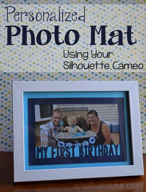 Personalized Photo Mat by How To Make A Photo Frame Mat Galleryimage Co