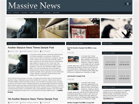 newspaper theme html5 45 best html5 wordpress themes 2017