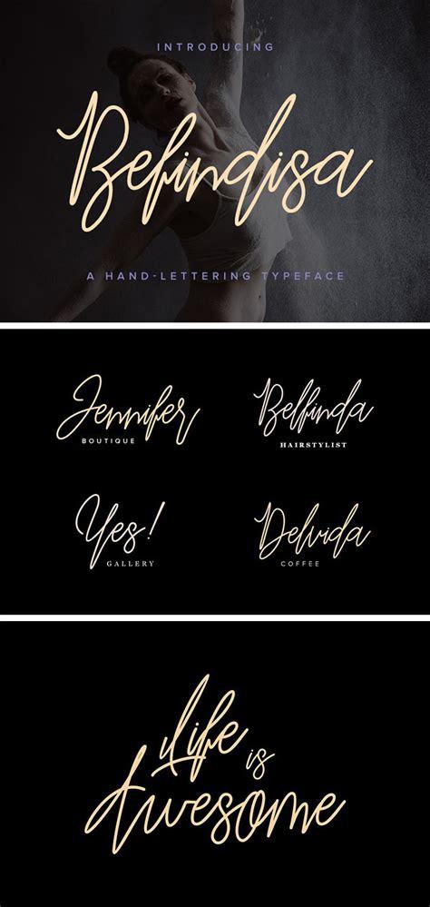 the script y befindisa script font free fonts
