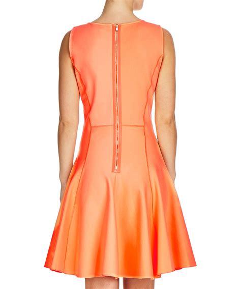 Sale Mini Dress Brukat Orange discount sorbet orange pleated mini dress secretsales