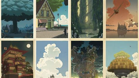 Poster Miyazaki Series Nausica Q 40x60cm the serenity of hayao miyazaki s is perfectly captured in these posters