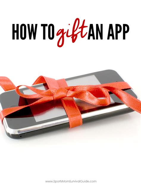 How To Buy An App With A Gift Card - how to gift an app great last minute gift