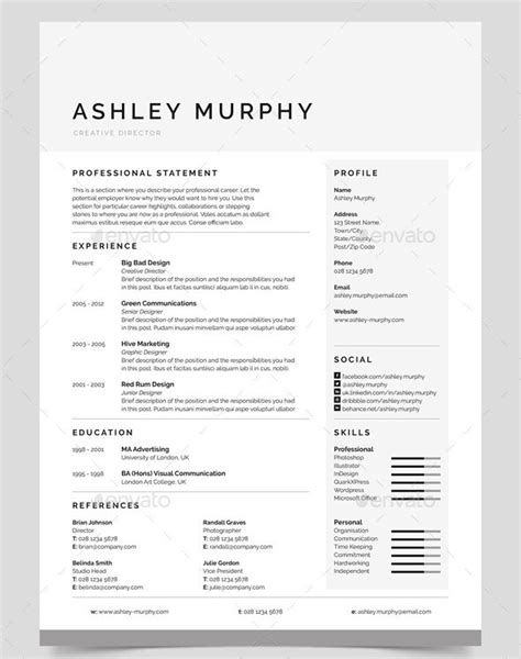 ready to edit cleaning resumes 30 best resume template designs 2015 web graphic design bashooka