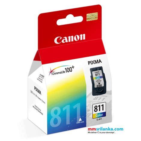 canon cl811 color cartridge